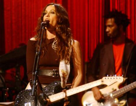 Alanis live at house of blues